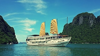 halong bay deluxe cruises