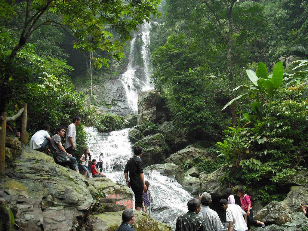 ba vi national park vietnam