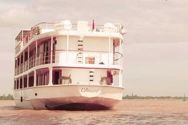5 Day Mekong Delta Cruise Saigon to Phnom Penh