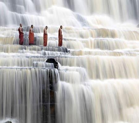Visit Pongour waterfall in Dalat