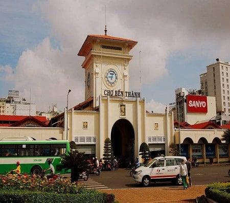 benH thanh market in saigon