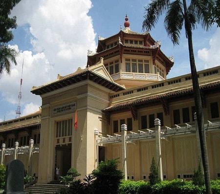 museum of vietnamese history in saigon